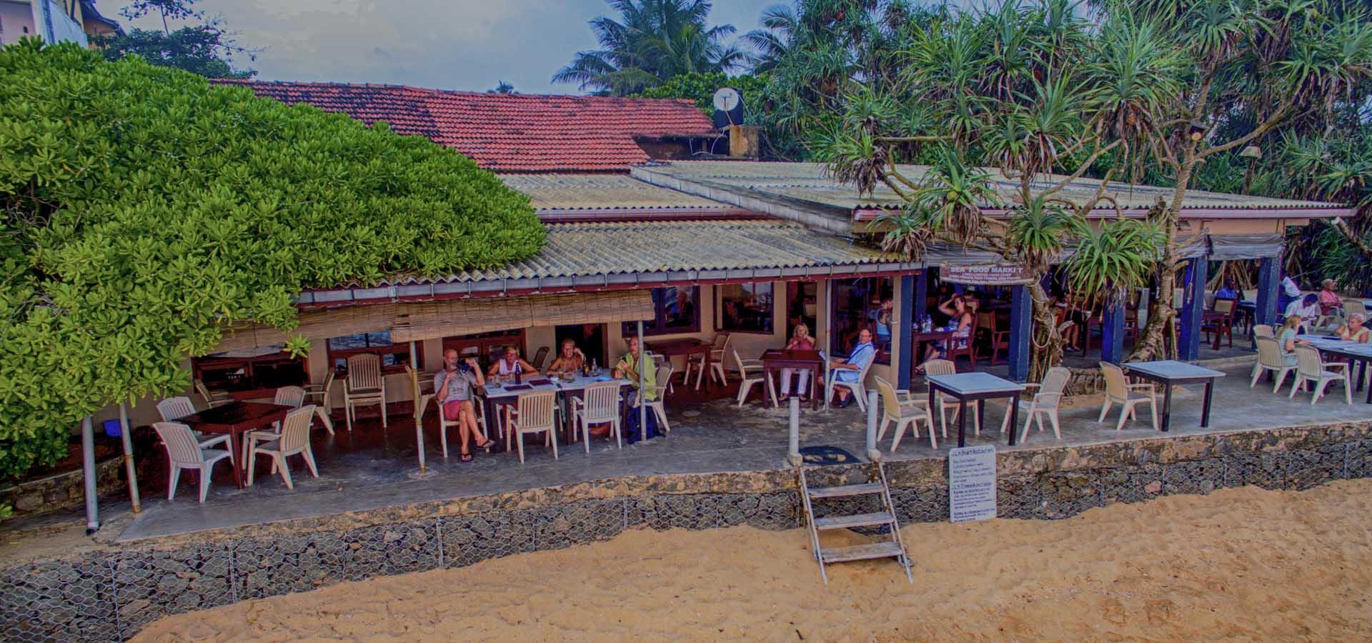JLH Restaurant Hikkaduwa Sri Lanka