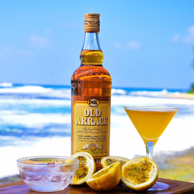 Arrack cocktail